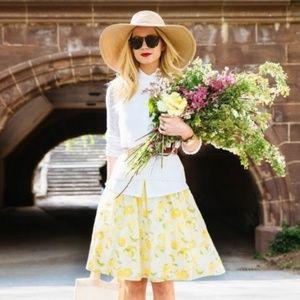 Ann Taylor Lemon Drop Dress   Lemon Print Dress